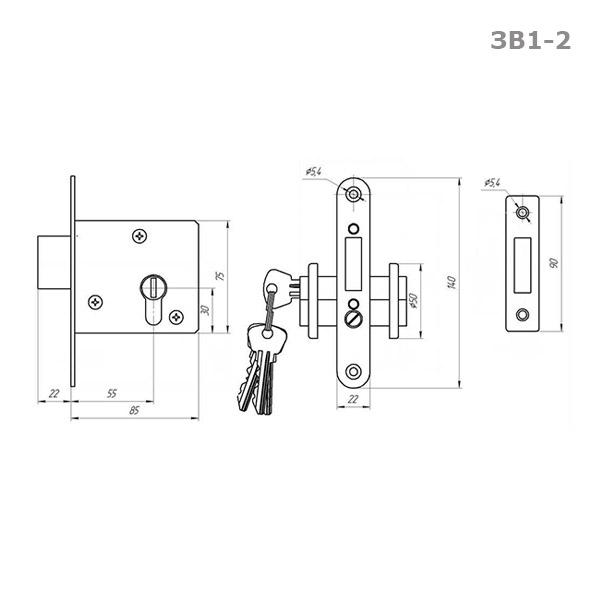ЗВ1-2 схема