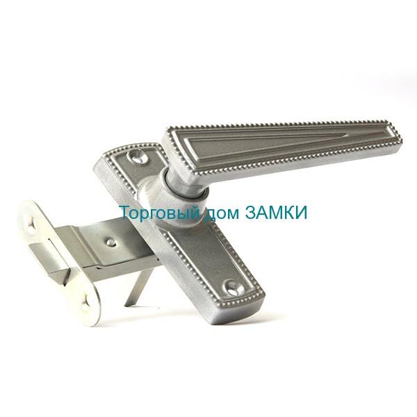 Защелка врезная ЗЩ2-01 ЗЕНИТ дверная бриллиант с ручками